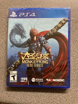 Monkey King PS4 for Sale in Wichita, KS