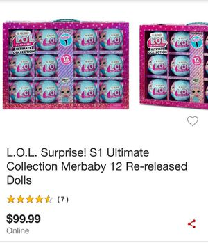 LOL Suprice! s1 ultimate collection Re-realeased dolls collection for Sale in Cypress, TX