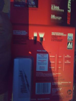 Milwaukee redlithium USB flashlight spot and flood for Sale in Pinellas Park, FL