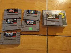 Super Nintendo games different prices for Sale in San Diego, CA
