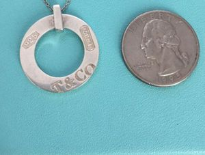Tiffany & Co. 1837 circle pendant for Sale in Bountiful, UT