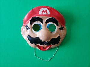 Vintage Super Mario Mask for Sale in Gilroy, CA