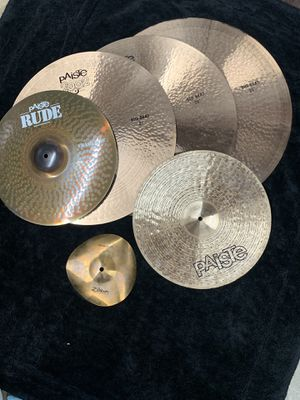 Paíste 2002 Big Beat Cymbals for Sale in Glendora, CA