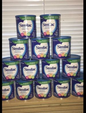 SIMILAC FORMULA ALL 14 CANS for Sale in Seattle, WA