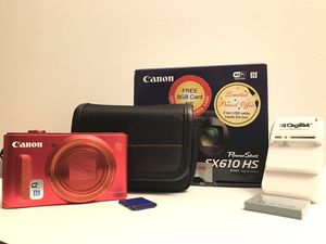 Canon PowerShot SX610 HS for Sale in Glenview, IL