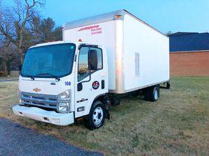 2008 Chevy NPR Isuzu diesel Box Truck W4500 16 FT runs drives Excellent for Sale in NO POTOMAC, MD