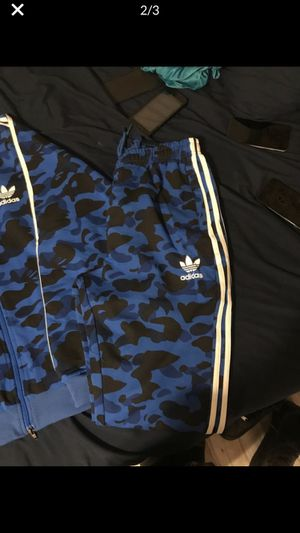 Bape X adidas outfit for Sale in TEMPLE TERR, FL