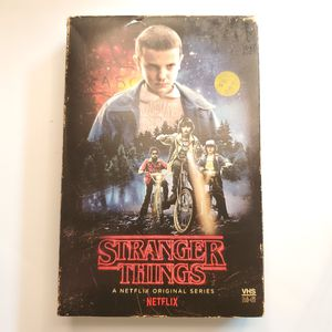 Stranger Things BLUray CD season 1 VHS Cover Special Edition for Sale in Murfreesboro, TN