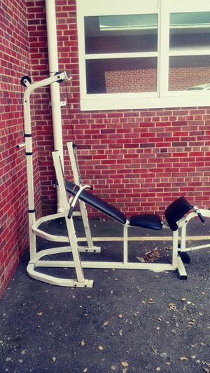 Competitor combo weight bench for Sale in Virginia Beach, VA