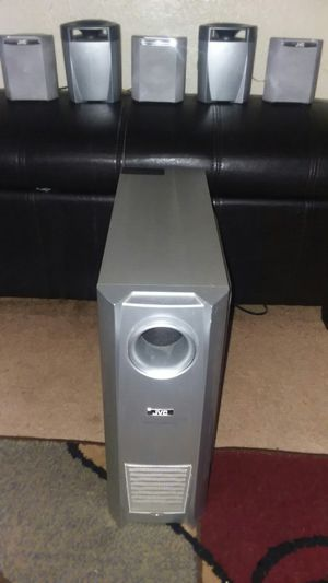 JVC HOME THEATER SPEAKERS, ASKING $60 for Sale in Fort Wayne, IN