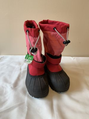 Child Size 2- Red snow boots for Sale in Reston, VA
