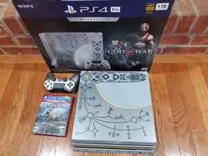 Sony PS4 Pro God of War Edition for Sale in Clifton, VA