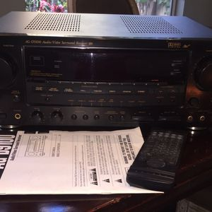 TEAC Stereo Receiver (early 2000's) with Original Users Manual for Sale in Encinitas, CA