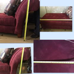 CHAISE LOUNGE& PILLOW - CHAIR&OTTOMAN SET for Sale in Detroit,  MI