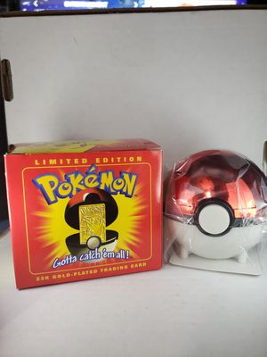 Pokemon Pikachu 23K Gold-plated card for Sale in Branford, CT