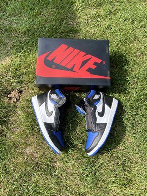 Jordan 1 royal toe size 9.5-12 for Sale in Addison, IL