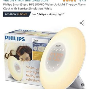 Philips Wake Up Light - Never Opened for Sale in Lorton, VA