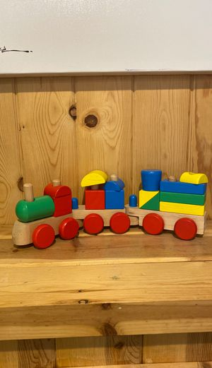 Melissa and Doug train toy for Sale in Woodway, WA