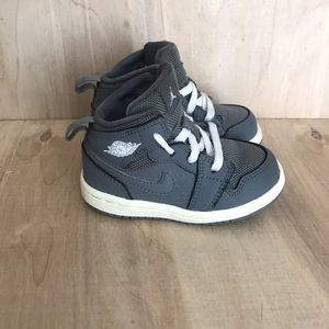 Nike Air Jordan 1 Mid Toddler Size 5C Grey for Sale in Anaheim, CA