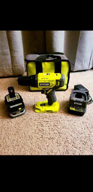 Ryobi one+ drill kit with 1.5ah battery *brand new* for Sale in Plaistow, NH