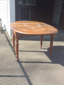 Free Foldable Antique Table for Sale in Portland,  OR