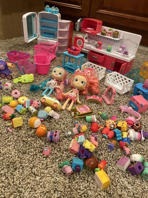 Shopkins, Shopees, Cutie Cars Lot for Sale in Thousand Oaks, CA