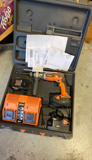 Ridgid hammer drill for Sale in Lutz, FL