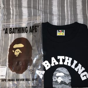 A Bathing Ape Black Desert Camo College T Shirt for Sale in Del Mar, CA