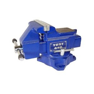 """Yost Tools Vises 445 4.5"""" Heavy-Duty Utility Combination Pipe & Bench Vise Blue for Sale in Henderson, NV"""