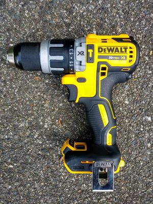 "DeWalt 20 Volt XR Brushless Compact 1/2"" Hammer Drill (TOOL ONLY) for Sale in Tacoma, WA"