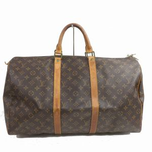 Authentic Louis Vuitton Keepall 50 M41426 Brown Monogram Boston Bag 11334 for Sale in Plano, TX