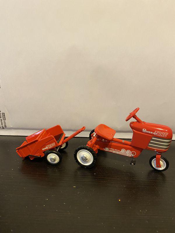 "1955 Murray"" Tractor and Trailer ""Hallmark Ornament (cast iron)"