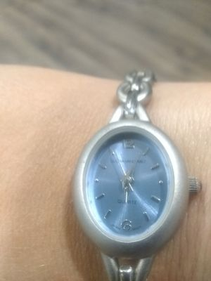 Silver Quartz bracelet watch for Sale in East Haven, CT