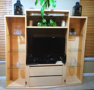 Entertainment center/ TV stand/ Display case (Stand only) for Sale in Ashburn, VA