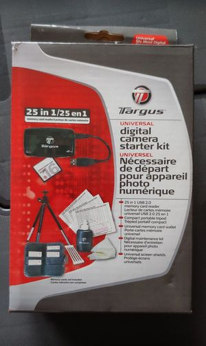 Targus Universal Digital Camera Starter Kit for Sale in Dallas, TX