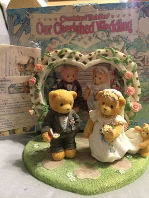 """Cherished Teddies """"Our Cherished Wedding Set"""" Collectible for Sale in OSBORNVILLE, NJ"""