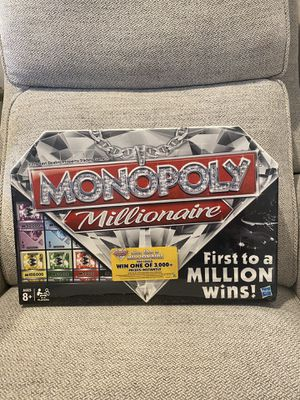 Monopoly Millionaire Board Game for Sale in West Sacramento, CA