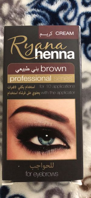 Henna cream for eyebrow for Sale in New Port Richey, FL