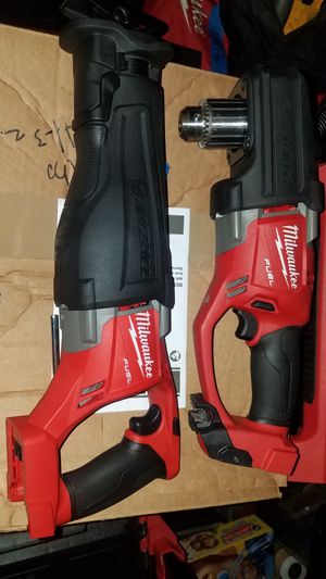 Milwaukee m18 fuel Reciprocating saw new and hole hawg only firm price no offers please/precio firme no ofertas for Sale in Escondido, CA