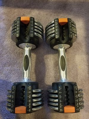 *pending* Pair of epic adjustable dumbbells. 2.5 to 15lbs for Sale in Redmond, WA