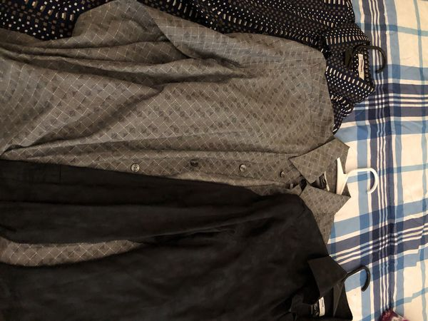 Three Versace button up shirts all 39 they are medium and small