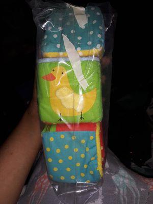 Kid Cloth Blocks (3) for Sale in Brooklyn Park, MN