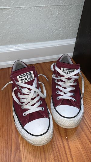 Converse Burgundy Shoes for Sale in Lake Stevens, WA