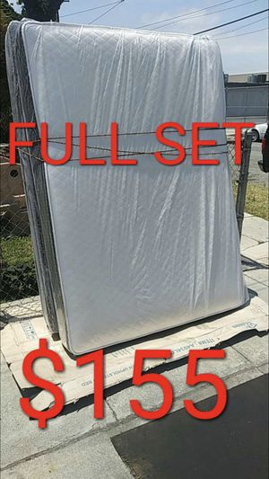 FULL MATTRESS AND BOX SPRING for Sale in Hawthorne, CA