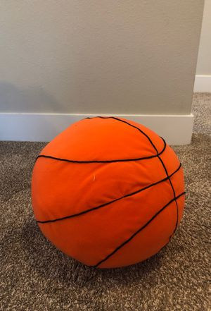 Large stuffed basketball pillow for Sale in Everett, WA