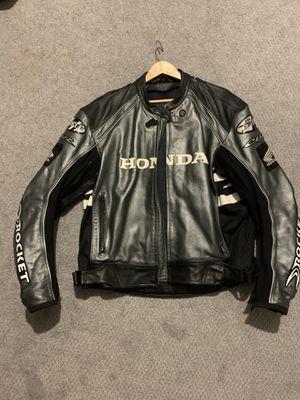 Joe rocket leather Honda motorcycle jacket for Sale in Dracut, MA