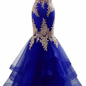 Changuan Mermaid Evening Dress for Women Backless Formal Long Prom Dresses with Embroidery for Sale in Smyrna, TN