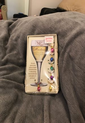 Christmas Lights Charms Wine Markers for Sale in Lynchburg, VA