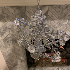 Pair of Snowflake Hanging Candle Holders for Sale in Dallas, TX