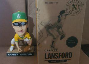 Bay special Oakland A's Carney Lansford / San Francisco Giants Joe Panik bobblehead lot for Sale in Dallas, GA